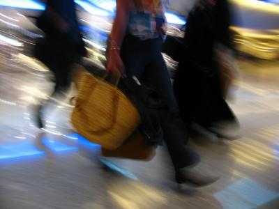 Koffertragen für den Fettabbau