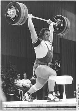 Olympische Kraftübungen