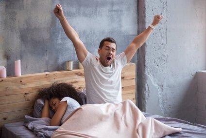 Zwei simple Schritte für einen besseren Schlaf