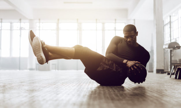 Medizinball – Sixpack und Athletik mit Oldschool-Training