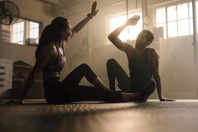 Fitnesstraining soll Spaß machen